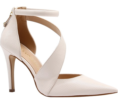 Heels with Cross-Over Strap