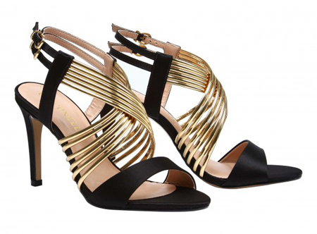 Sling-Back Leather Sandals